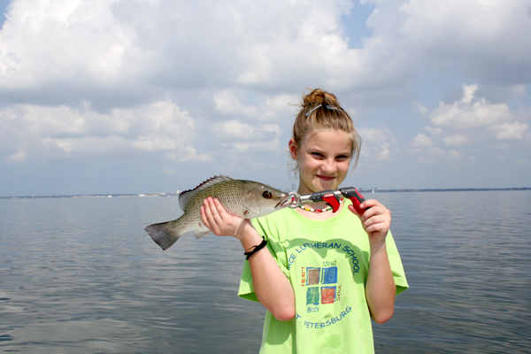 Kid friendly fishing trips tampa fishing guides for Tampa fishing outfitters